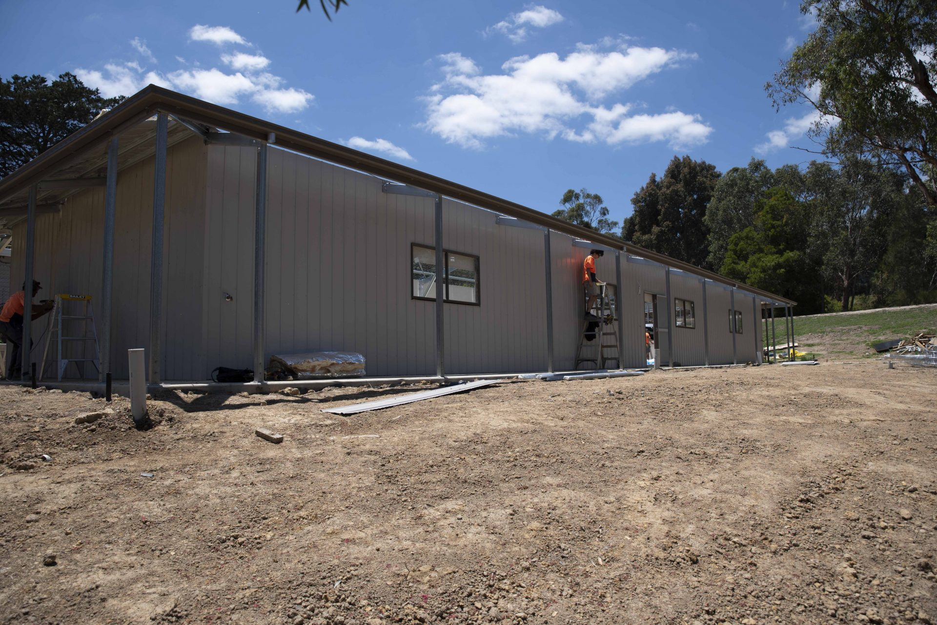 5 STAR Dog Boarding Block Almost Complete – Yarra Valley