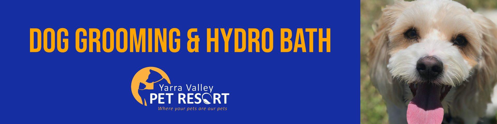 Dog Grooming & Hydro Bath Healesville Yarra Valley