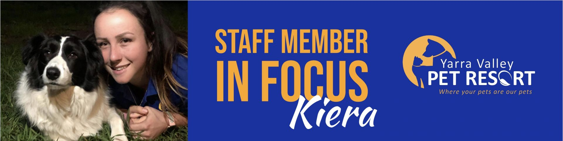 Staff Member In Focus – Kiera – Assistant Kennel Manager