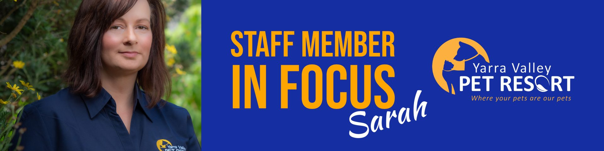 Staff Member In Focus – Sarah – Events Co-ordinator/Marketing